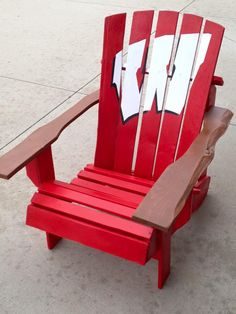Kathy S 3 Adirondack Chairs In The Shape Of Wisconsin