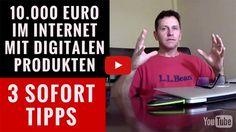 3 Sofort-Tipps: 10.000 Euro im Internet verdienen mit digitalen Produkten - David Seffer´s Marketing Blog