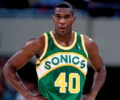 Sonics forever — Shawn Kemp