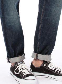 Levi's 501CT Slim-Fit Tapered Selvedge White Oak Cone Denim Jeans nwt 18173 0073