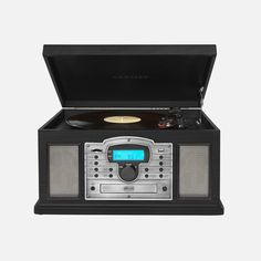 Record from vinyl to digital and play music from your vinyl, USB, SD card, CD's, cassettes and the AM/FM radio. Sd Card, Audio, Digital, Usb, Play