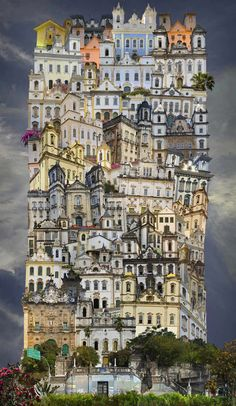 <p>Paris-based photographer Jean-Francois Rauzier began his career as a fashion photographer. Realizing he could use digital photography to compose a grid of pictures, the artist went on to create the