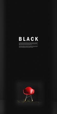 Black By Karlis Karklins - A Collection Of Dramatic Home Interiors. Hall Interior Design, Technology Wallpaper, Black Space, Dark Interiors, Minimal Design, Web Design, Behance, Inspiration, Colorful Wallpaper