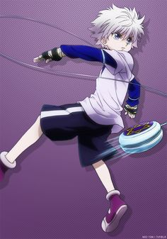 Killua Zoldyck most beautiful assassin to have graced the (anime) world with his presence ^_^