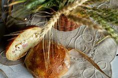 Potato Bread with Cream Cheese and Ham - Pão de Batata com Requeijão e Fiambre
