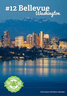 Hello Bellevue, Washington! Ranked #12 on Livability.com's Top 100 Best Places to Live