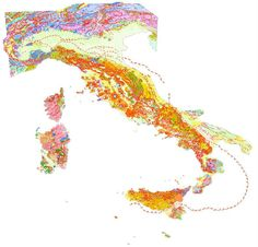 Carte geologiche, solo il 40% dell'Italia è mappato  Per completare la copertura dell'intera penisola servirebbero almeno 200 milioni di euro: ma dal 2000 i finanziamenti sono terminati  Leggi l'articolo su Galileo (http://www.galileonet.it/articles/4fe060de72b7ab7856000002)  Credit immagine a Ispra