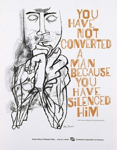 Ben Shahn is one of my favorite artists.  Beautiful, smart work with a strong sense of social justice.
