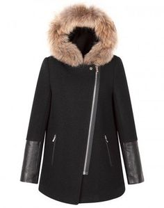 The fur collar on this jacket makes it eye catching.  ^^^^^^^^^^^^^^^^^^^^^^^^^