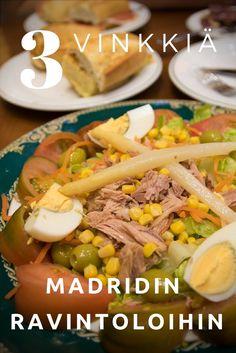 Madridin parhaat ravintolalöydöt. Madrid, Espanja, ruoka, ravintola. Matkablogi Suunnaton.