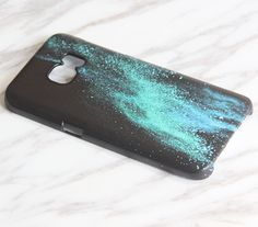 Hey, I found this really awesome Etsy listing at https://www.etsy.com/listing/279892448/black-turquoise-sparkle-samsung-galaxy