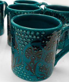 Hand made mugs from Turkey Home Crafts, Coffee Mugs, Turkey, Ceramics, Rugs, Tableware, Handmade, Gifts, Ceramica