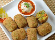 Crunchy Vegetable Nuggets