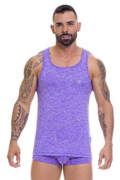 4cf06ebf2208b 0624 JOR Pop Tank Top Color Purple - Fetish Underwear Sales Underwear Sale