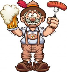 Buy Bavarian Man by memoangeles on GraphicRiver. Bavarian man with traditional clothes celebrating Oktoberfest with a beer in one hand and a sausage in the other. Cartoon Smoke, African Art Projects, Weird Drawings, Humans Of New York, Character Concept, Clipart, Doodle Art, Traditional Outfits, Cartoon Characters