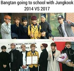 Aww they've grown so much! Jungkookie especially - I'm so proud of them all <3