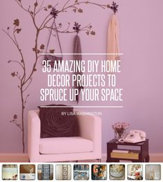 35 #Amazing DIY Home Decor Projects to Spruce up Your Space ... - DIY