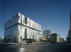 Uppsala Concert & Congress Hall in Sweden. Designed by Henning Larsen Architects.