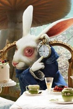 Yes,   Loved the books of my youth.......symbolism, wild mental images etc.....White Rabbit, Alice in Wonderland