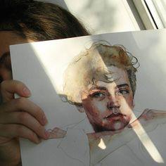 Jughead ♠  .  .  .  .  .  #riverdale #colesprouse #watercolor #color #colors #art #artist #skech #skeching #drawing #draw #portrait #kazan #painter #painting #paint #tumblrgirl #tumblrboy #tumblr #aquarelle #sun #spring #inspiration #instaart #illustration #jugheadjones #jughead