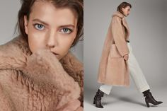 Discover the latest fashion trends in new women's shoes, clothes and accessories for Spring/Summer 2020 at Massimo Dutti: elegant sandals, skirts and jackets. Catwalk Collection, Shoe Collection, Summer Collection, France Mode, Elegant Outfit, Men And Women, Fur Coat, Fall Winter, Spring Summer