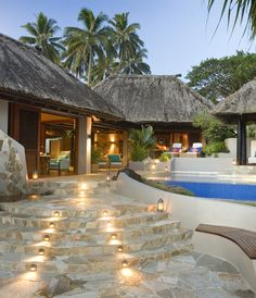 One of the most luxurious accommodations in Fiji - The Villa.