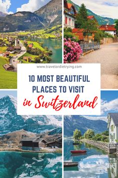 Looking for the most beautiful places in Switzerland? These are the must-see amazing destinations in Switzerland | Switzerland travel, amazing places | Switzerland bucket list | Switzerland amazing nature | Things to do and see in Switzerland | Most beautiful places in Switzerland.| Most beautiful places to visit in Switzerland.| #switzerland #switzerlandtravel #switzerlandamazingplaces #switzerlandbeautifulplaces #switzerlandthingstodo
