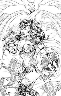 Dc Comics Coloring Pages