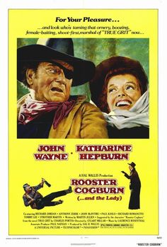 Rooster Cogburn 27x40 Movie Poster (1975)