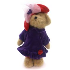 Boyds Bears Plush Ima Lotsafun Teddy Bear Height: 10 Inches Material: Fabric Type: Teddy Bear Brand: Boyds Bears Plush Item Number: Boyds Bears Plush 914000 Catalog ID: 29110 New With Tag. The Red Hat