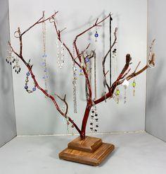 Jewelry Tree  Large Manzanita  1089 by RedBarkDesigns on Etsy, $39.00