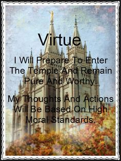Young Women's Value: Virtue