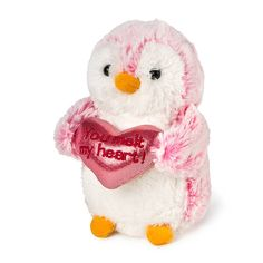 Plush Penguin with Heart | Claire's