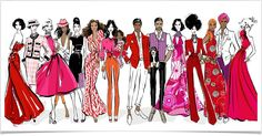 Megan Hess Illustration- Fashion meets Art.