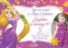 Rapunzel invitation tangled invitation rapunzel thank you card rapunzel invitation tangled invitation rapunzel thank you card filmwisefo Images
