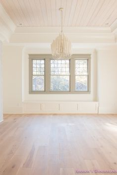 Shaw Floors Hardwood Flooring... Room reveal is on the blog! playroom-living-room-whitewashed-hardwood-floors-flooring-ceiling-rose-pink-doors-iron-baluster-staircase-white-walls-alabaster-sherwin-williams