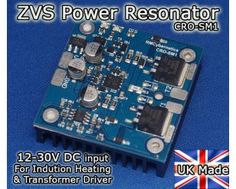 Ultra Compact Induction Heater Circuit - Power Resonator - CRO-SM1