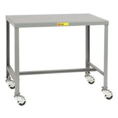 """Little Giant USA Mobile Steel Top Workbench Size: 18"""" H x 24"""" W x 18"""" D"""
