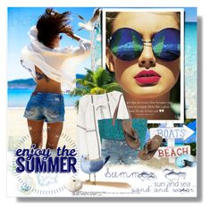"""""""A Summer full of Dreams"""" by bellamonica ❤ liked on Polyvore featuring TOUS, Velvet, Flora Bella, True Religion and Carter's"""