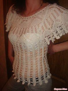 crochet blouse pinned from imgO.liveinternet.ru