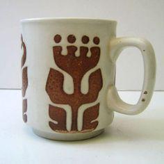 Vintage stoneware mug from England