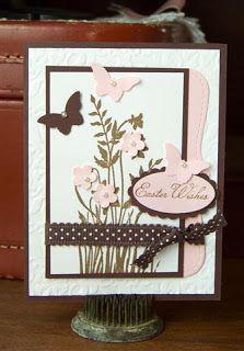 Stetler Arts | Rubber Stamping Tutorials | Card Making Ideas: Easter Card