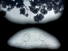 """From """"It's Such a Beautiful Day"""" by UCSB alum Don Hertzfeldt."""