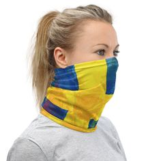"""Looking to head out safely and in style ... """"Get Your Svenska On!"""" 🇸🇪  at SCANDINORDIC.com ...  a versatile fashion must have .... wind scarf, wristband, knotted hat, there's so many ways! Perfect for #sverigesnationaldag June 6 or any day really ... 🎁 Lots of new stuff head over to SCANDINORDIC.COM and browse around!  FREE SHIPPING UNTIL JUNE 30, order now to receive ASAP 💝  #swedenday #sverigenationaldag  #getyournordicon  #Dugamladufria #swedishfolk  #swedishviking #svenskaviking"""
