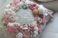 프랑스 자수 자격증 과정 누구나 처음 시작은 걸음마 배우기처럼... 뒤뚱뛰뚱의 시작입니다. 헬렌의 처음 ... Creative Embroidery, Embroidery Designs, Brazilian Embroidery, Crewel Embroidery, Silk Ribbon, Burlap Wreath, Needlework, Knit Crochet, Diy And Crafts