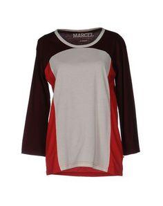 LE FABULEUX MARCEL DE BRUXELLES Women's T-shirt Maroon XS INT