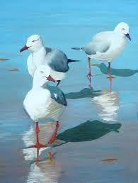 Billedresultat for seagull paintings