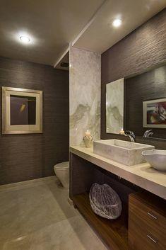 Residencia Toronjos : Baños modernos de Olivia Aldrete Haas