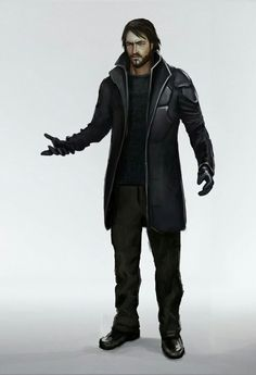 A Simple Yet sleek Detective Outfit. This would allow for small and subtle cyber enhancements.   Detective's daily outfit