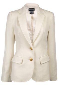 Sutton Studio Women's 100% Cashmere Blazer Jacket